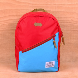 Poler Drifter Backpack - Sky/Red