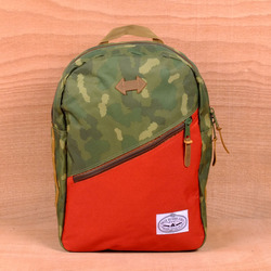 Poler Drifter Backpack - Camo/Orange