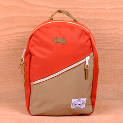 Poler Drifter Backpack - Orange/Khaki