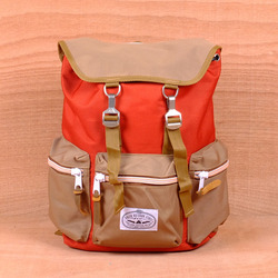 Poler Roamers Backpack - Orange/Khaki