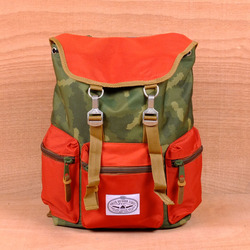 Poler Roamers Backpack - Camo/Orange