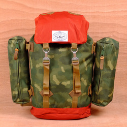 Poler Rucksack - Camo/Orange