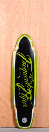 "Earthwing 36"" Frequent Flyer Longboard Deck - Green"