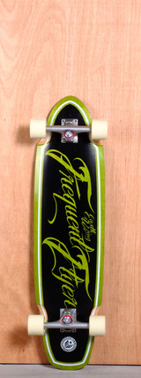 "Earthwing 36"" Frequent Flyer Longboard Complete - Green"