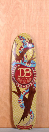 "DB 36.375"" Diamondback Longboard Deck"