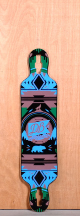 "DB 38"" Urban Native Longboard Deck"