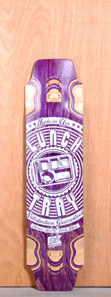 "DB 39"" Lunch Tray Longboard Deck"