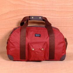 Brixton Vagrant Duffle Bag - Red