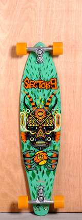 "Sector 9 38.25"" Lagoon Longboard Complete"