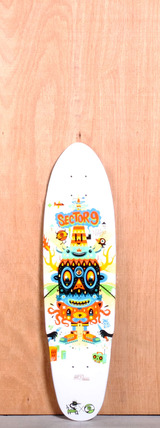 "Sector 9 31.6"" Party Time Longboard Deck"