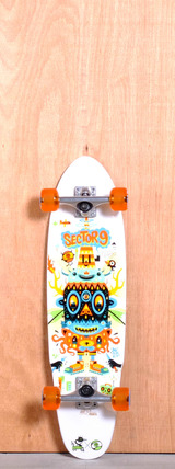 "Sector 9 31.6"" Party Time longboard Complete"