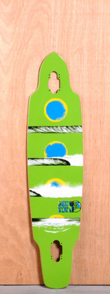 "Sector 9 39"" Horizon Longboard Deck - Green"
