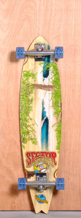 "Sector 9 39.5"" Nica Longboard Complete"