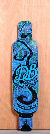 "DB 40"" Single Speed V2 Longboard Deck"