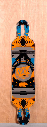 "DB 40"" Urban Native Longboard Deck"