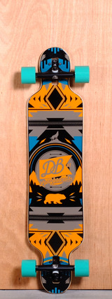"DB 40"" Urban Native Longboard Complete"