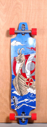 "Omen 40"" Drop Ship Longboard Complete"