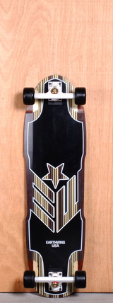 "Earthwing 36.5"" Carbon Hoopty Longboard Complete"