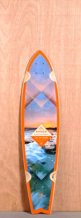 "Arbor 37"" Mission Longboard Deck - Walnut"
