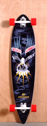 "Never Summer 43"" Defender Longboard Complete"