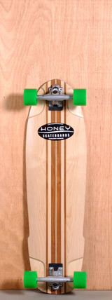 "Honey 35.5"" H-Bomb Longboard Complete"
