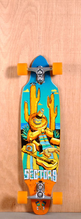 "Sector 9 36"" Tempest Longboard Complete"