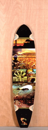 "Sector 9 39.5"" Voyager Longboard Deck"
