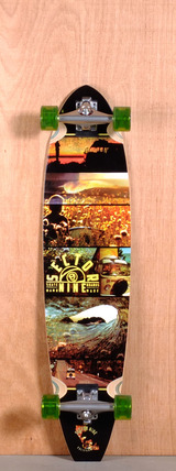 "Sector 9 39.5"" Voyager Longboard Complete"
