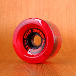 Never Summer 64mm 81a Wheels - Red