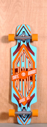 "Sector 9 38.5"" Sprocket Longboard Complete - Orange V1"