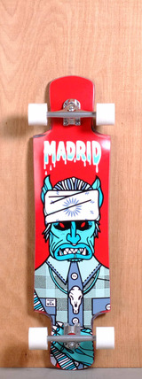 "Madrid 39"" Goat Sucker Longboard Complete"
