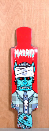 "Madrid 39"" Goat Sucker Longboard Deck"