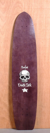 "Barfoot 44"" Death Stik Longboard Deck"