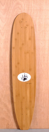"Barfoot 44"" Nose Rider Bamboo Longboard Deck"