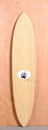 "Barfoot 44"" Pintail Bamboo Longboard Deck"