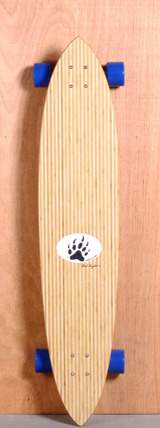 """Barfoot 44"""" Pintail Bamboo Longboard Complete"""