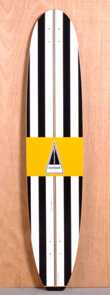 "Barfoot 47"" Harbour Banana Longboard Deck"
