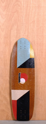 "Loaded 33"" Truncated Tesseract Longboard Deck"