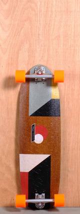 "Loaded 33"" Truncated Tesseract Longboard Complete"