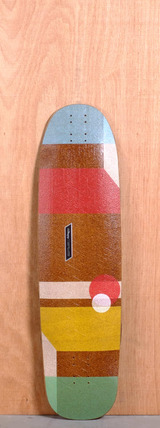 "Loaded 36"" Cantellated Tesseract Longboard Deck"