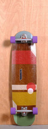 "Loaded 36"" Cantellated Tesseract Longboard Complete"
