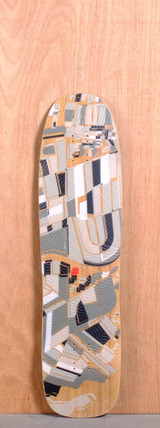 "Loaded 37"" Overland Longboard Deck"