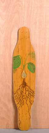 "Loaded 38"" Fattail Longboard Deck - Flex 1"