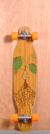 "Loaded 38"" Fattail Longboard Complete - Flex 3"