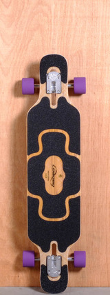 "Loaded 39"" Tan Tien Longboard Complete - Flex 1"
