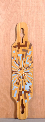 "Loaded 39"" Tan Tien Longboard Deck - Flex 2"