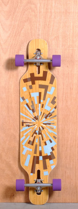 "Loaded 39"" Tan Tien Longboard Complete - Flex 3"