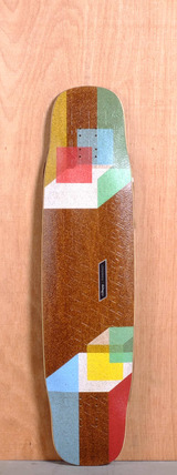 "Loaded 39"" Tesseract Longboard Deck"