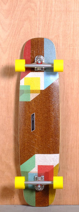 "Loaded 39"" Tesseract Longboard Complete"