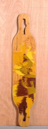 "Loaded 43"" Dervish Sama Longboard Deck - Flex 3"